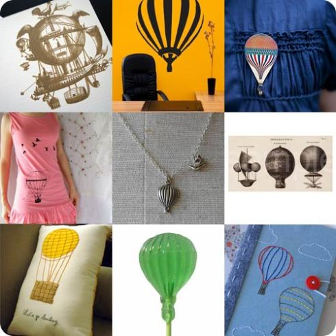 Found on Etsy - Hot Air Balloons