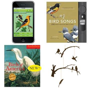 Four Calling Birds on Flee Fly Flown