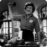 Julia Child on Flee Fly Flown