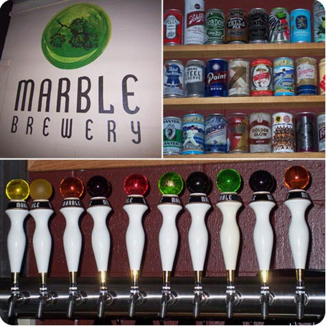 Marble Brewery in Albuquerque on Flee Fly Flown