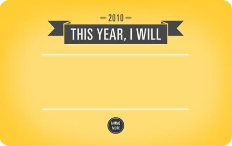 New Year's Resolution Finder by Monina Velarde on Flee Fly Flown