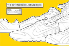 The Sneaker Coloring Book on Flee Fly Flown