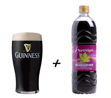 Guinness + Black Currant on Flee Fly Flown