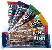 Kind Bars make a great snack during flights. Featured on Flee Fly Flown