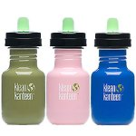 Kleen Kanteen water bottles on Flee Fly Flown