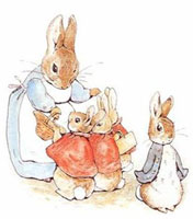 Peter Rabbit by Beatrix Potter on Flee Fly Flown