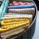 Fabric Storage Organization on Flee Fly Flown