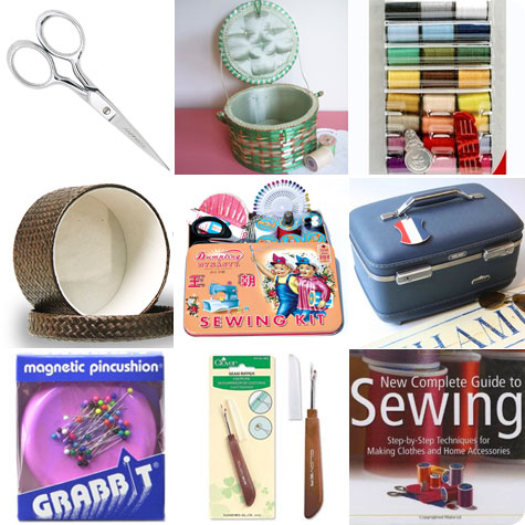 Sewing Basket Shoping Clues on Flee Fly Flown
