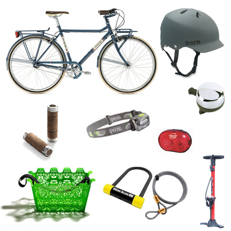 Basic Bicycle Gear on Flee Fly Flown