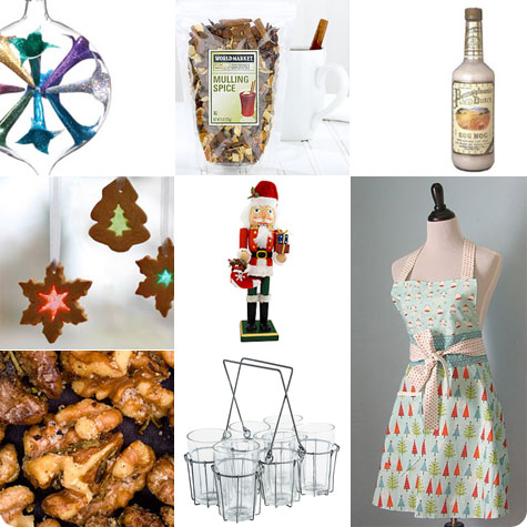 Holiday Party Hostess Gift ideas on Flee Fly Flown.