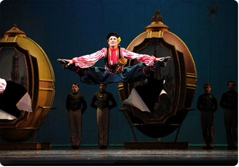 San Francisco Ballet's Trepak Dance from The Nutcracker on Flee Fly Flown