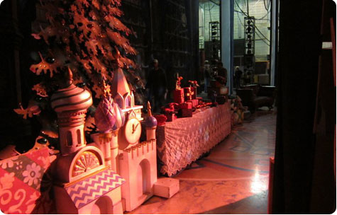 Backstage at the Milwaukee Ballet's The Nutcracker on Flee Fly Flown
