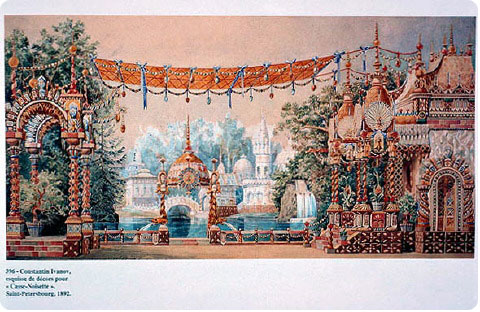 The Nutcracker Land of Sweets Set Design on Flee Fly Flown