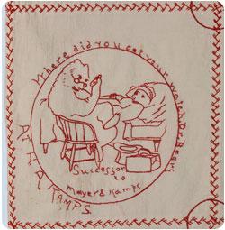 http://handmademeaning.wordpress.com/2010/11/27/theresa-schefflers-redwork-quilt/