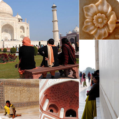 Taj Mahal visit in India on Flee Fly Flown