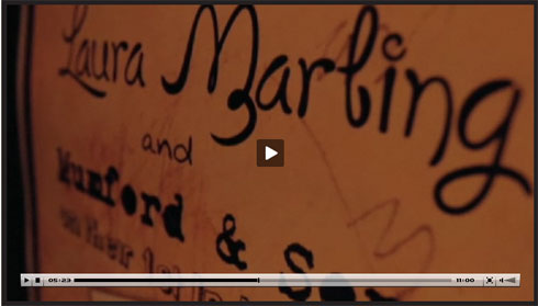 Laura Marling Video on Flee Fly Flown