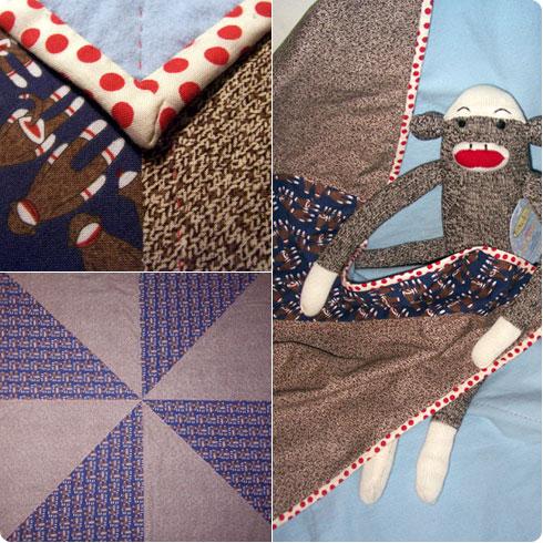 Baby Receiving Blanket by Colleen McIntyre on Flee Fly Flown