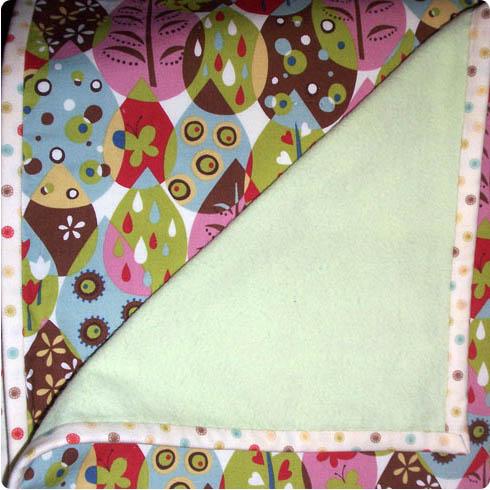 Handmade Blanket by Colleen McIntyre on Flee Fly Flown