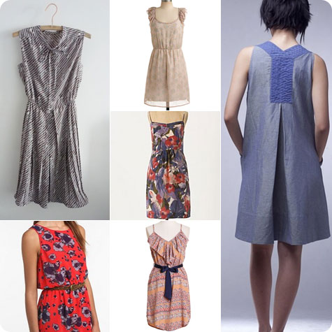 Dress inspiration for the summer on flee fly flown
