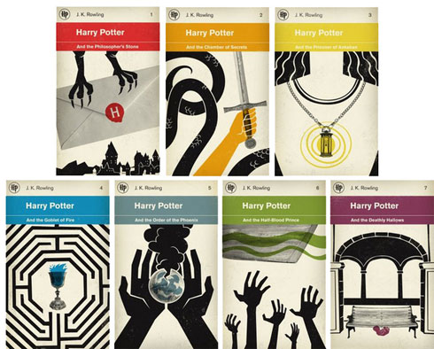 Harry Potter Book Cover Redesigns