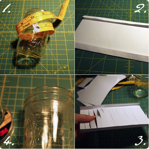 Paper Lantern DIY Steps 1-4 Flee Fly Flown