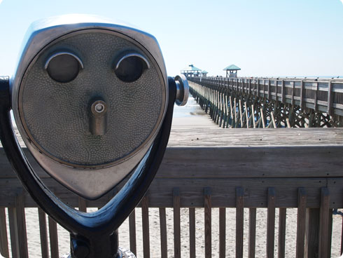Colleen McIntyre's trip to Folly Beach, South Carolina featured on Flee Fly Flown