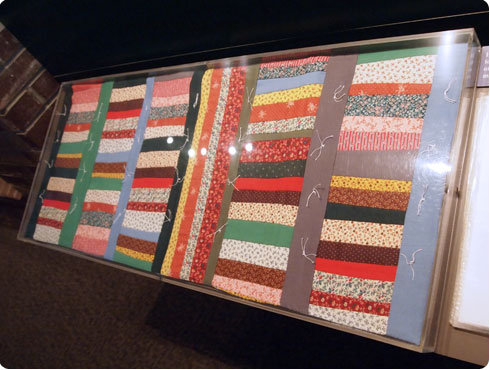 Civil War Quilt from Fort Sumter Civil War Museum in Charleston featured on Flee Fly Flown