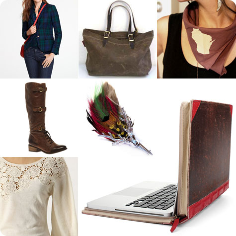 Fall Fashion Items of Desire on Flee Fly Flown