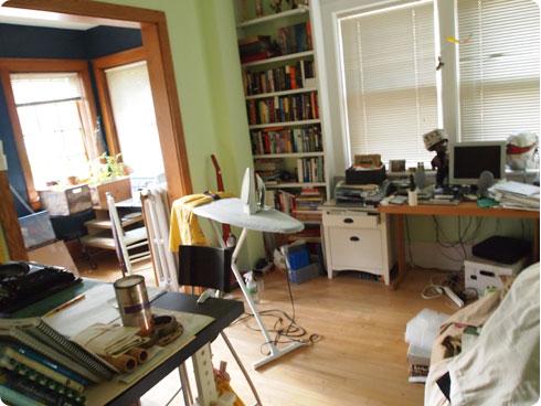Flee Fly Flown's Studio Work Space