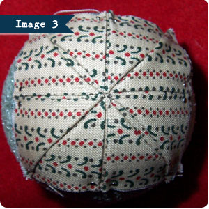 No Sew Quilted Ornament Tutorial, Image 3 on Flee Fly Flown