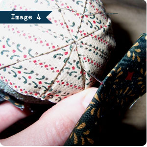 No Sew Quilted Ornament Tutorial, Image 4 on Flee Fly Flown