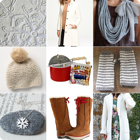 Let it Snow down gifts on Flee Fly Flown Holiday Shopping Gift Guide