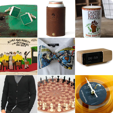 Gift Guide for Ye Merry Gentlemen of your life on Flee Fly Flown