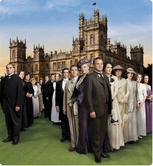 Downton Abbey on Flee Fly Flown