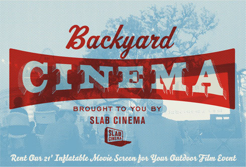 Backyard Cinema Screen Rental