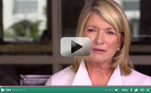 Martha Stewart interviewed for Maker's - Trailblazing Women