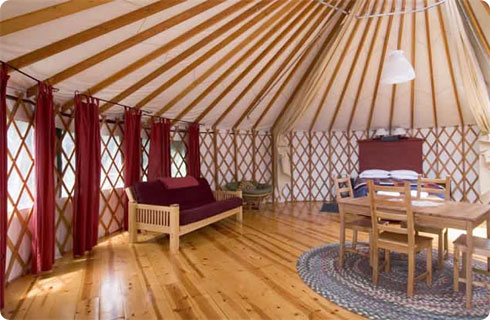 Treebones Resort Yurt Vacation