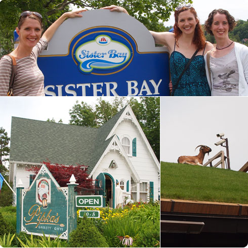 Sister Bay | Al Johnson's | Pipka's
