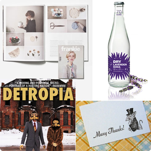 Friday Shares | Frankie Magazine, Dry Soda Co., Detropia Documentary