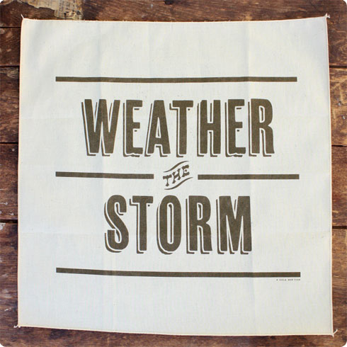 Weather the Storm | Hurricane Sandy | Victory Goods of Portland