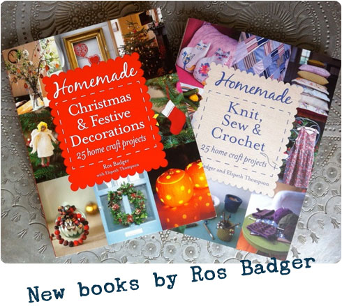 Homemade DIY Craft Project Books by Ros Badger | #BadgerHomemade