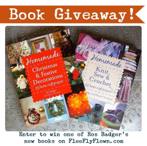 #BadgerHomemade   Book Giveaway on Flee Fly Flown