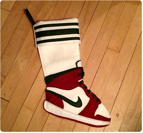 Nike Air Jordan Christmas Stocking