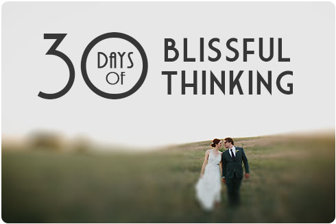 30 Days Blissful Thinking on Flee Fly Flown