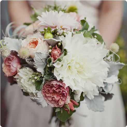 Wedding Flower Inspiration on Flee Fly Flown