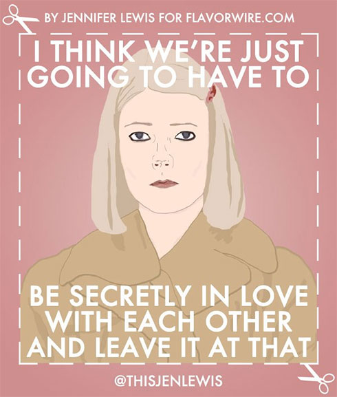 Valentines Day | Wes Anderson illustration by Jen Lewis