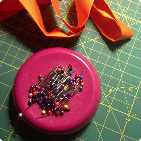 Pins in workspace