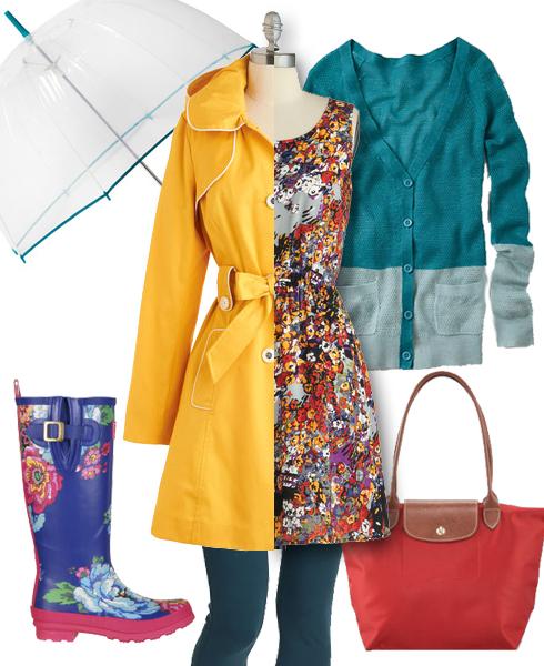 April Showers Fashion Inspiration
