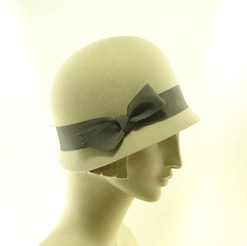 cloche hat on Flee Fly Flown