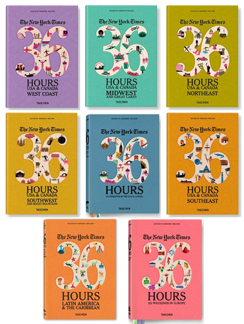 36 Hours Books by New York Times